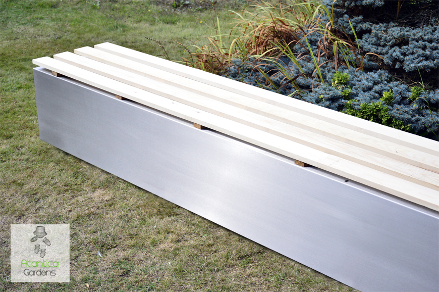 Custom Made garden bench seating | stainless steel | Modern and Contemporary Design