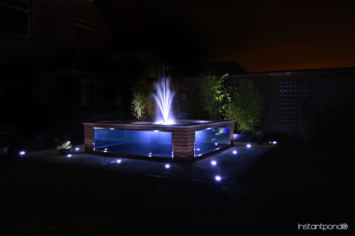 Instantpond official site atlantica gardens bespoke for Koi pond window