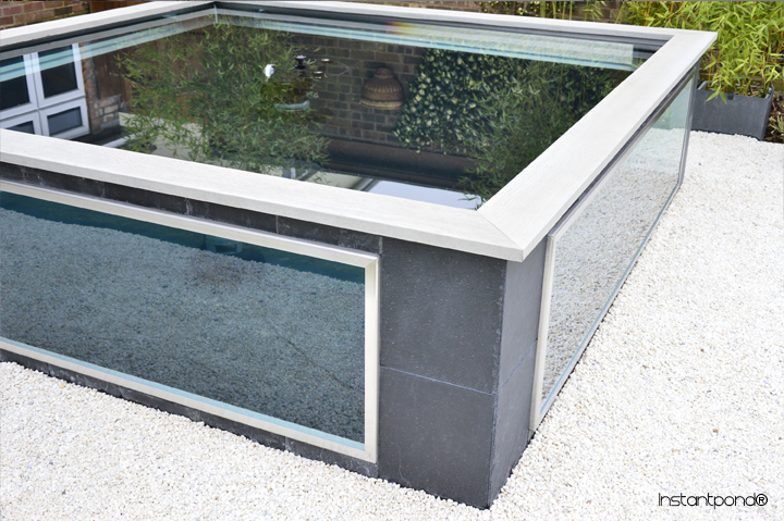 Instantpond Official Site Atlantica Gardens Bespoke Raised Instant Koi Ponds