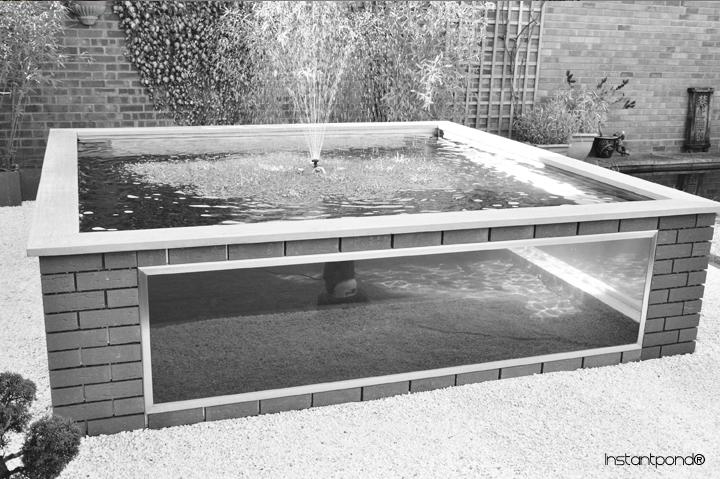 Raised koi ponds for Building a raised koi pond