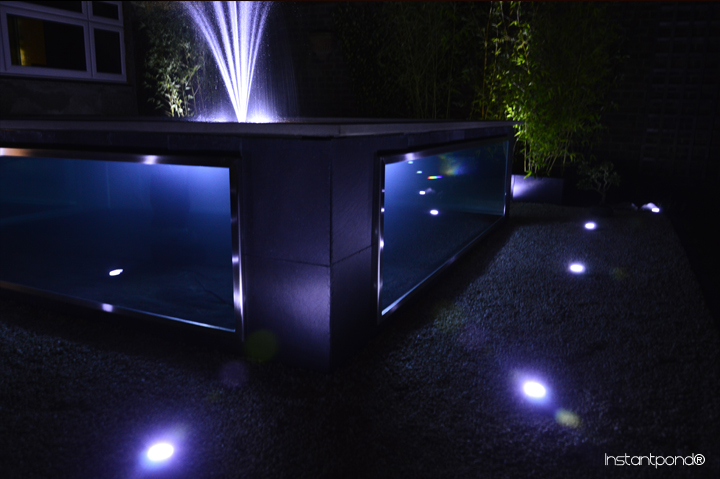 Stainless Steel Bespoke Koi Pond - pond builders