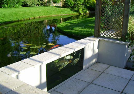 Box welded pond liners koi pond liners uk atlantica gardens for Koi pool liners