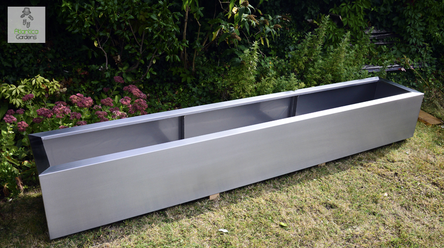 Bon Large Planter 6 Meters Long. Comprising Of 3 Sections. Without Back Edge.