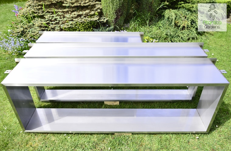 stainless steel frames for pond window installation varius sizes