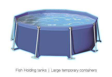 Fish Koi Holding Tanks Large Steel Atlantica Gardens