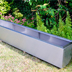 extra large trough planter plant pot 3 meters | 316 stainless steel construstion